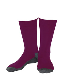 Wollsocken Basic Fuchsia 5-Pack