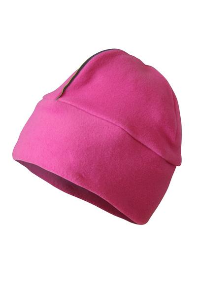 Dünn Micro Fleece-mütze Rosa