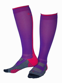 Compression Superior Lila/Cerise