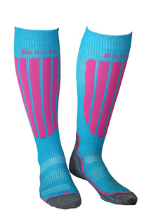 Compression Skiing Rosa/Grau