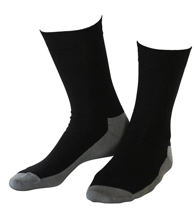 Wool socks Basic Black 10-Pack