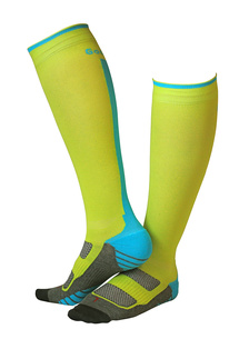 Compression Superior Lime/Turkoosi