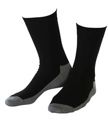 Wool socks Basic Black 2-Pack