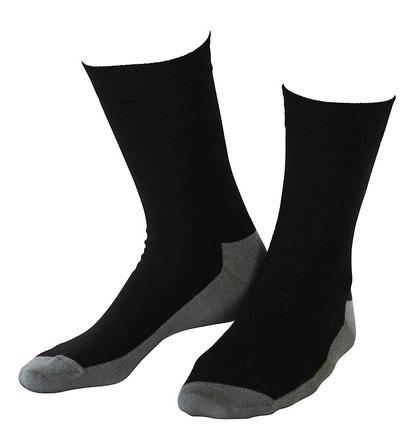 Wool socks Basic Black 2-Pack
