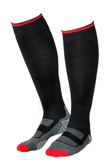 Compression Wool Black/Red