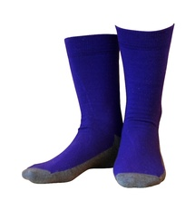 Wool socks Basic Purple 10-Pack