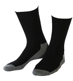 Wool socks Basic Black