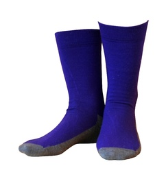 Wool socks Basic Purple