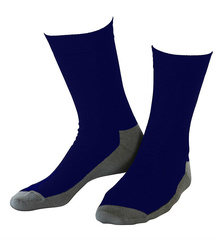 Wollsocken Basic Navy