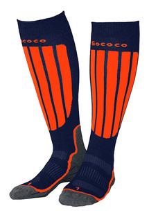 Compression Skiing Orange/Navy