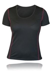 Performance T-Shirt Women Grey/Pink