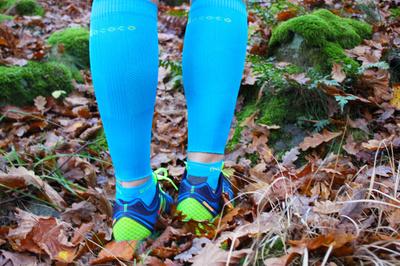 Compression Calf Sleeves ja Light Sport Turkoosi