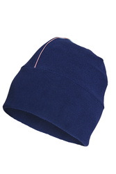 Thin Micro Fleece Hat Dark Blue