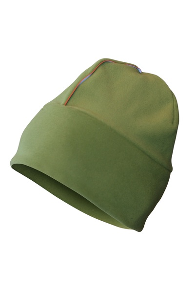 Thin Micro Fleece Hat Green